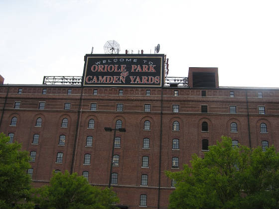 The Exterior of Oriole Park