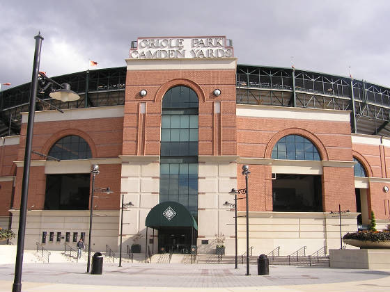 Oriole Park at Camden Yards - Exterior